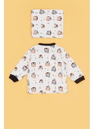 BG Baby Erkek Bebek Desenli Pijama Takımı 20Fw0Bg1807 Renkli
